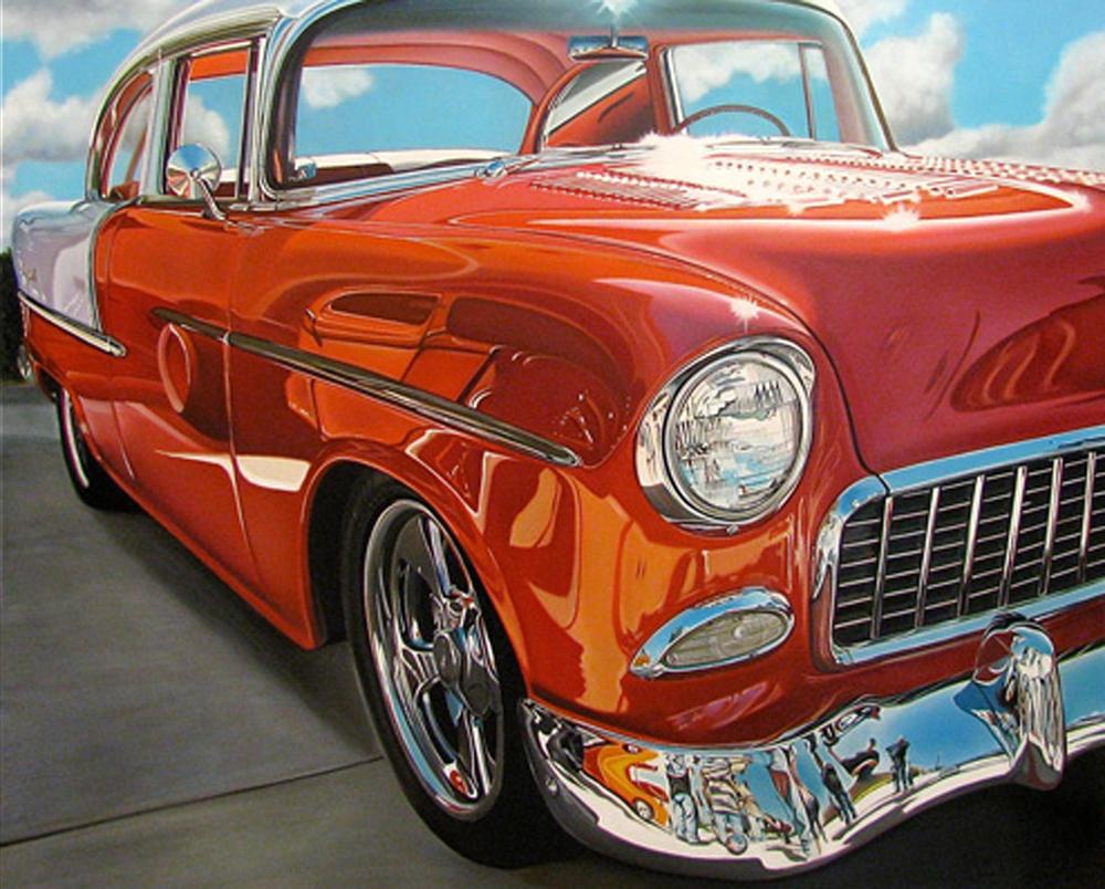 Pintura Autos Clasicos Pinturas de Autos